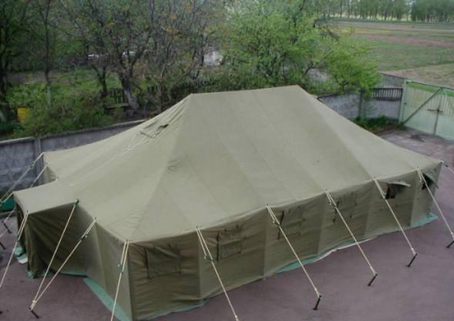 Палатка УСБ-56 -унифицированная санитарно-барачная , используется для медико- санитарных целей, а также как барак для...